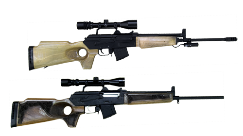 5.56x45 mm and 7.62x39 mm BARR
