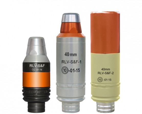 40 mm RLV-S&F, RLV-S&F-1 and RLV-S&F-2