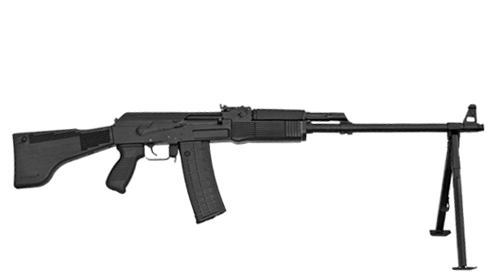 5.56x45 mm and 7.62x39 mm LMG