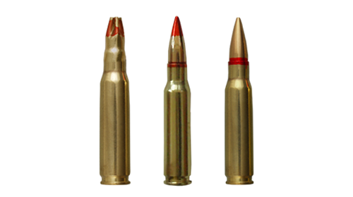 7.62x51 mm cartridges
