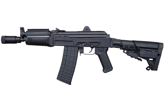 5.56x45 mm and 7.62x39 mm AR-M7ST