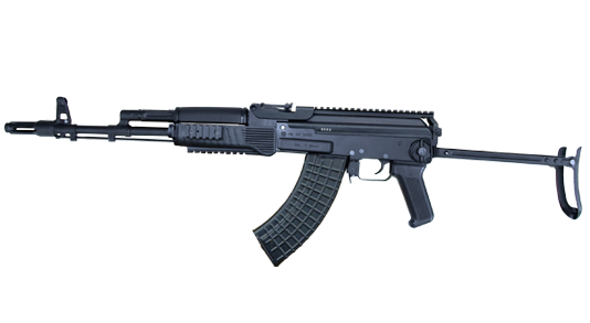 5.56x45 mm and 7.62x39 mm AR-M15F