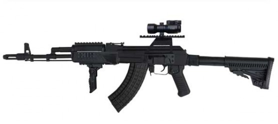 5.56x45 mm and 7.62x39 mm AR-M7TB